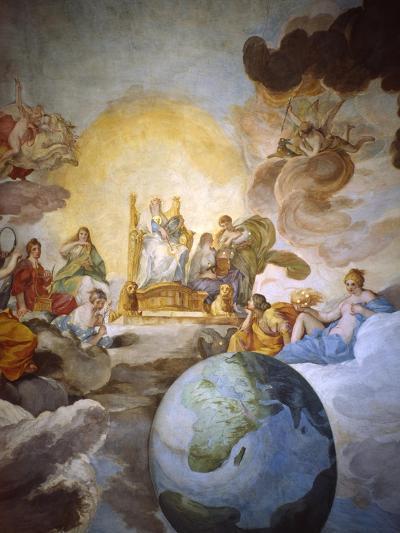 Allegory of Divine Wisdom, 1629-33-Andrea Sacchi-Giclee Print
