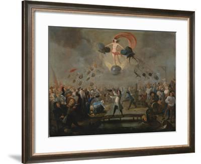 Allegory of Fortune, Ca 1730-Balthazar Nebot-Framed Giclee Print