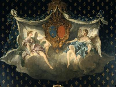 Allegory of France and Navarre, 1740-Fran?ois Boucher-Giclee Print