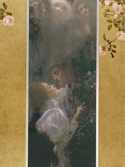 Allegory of Love, 1895-Gustav Klimt-Giclee Print
