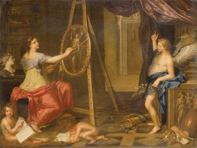 Allegory of Painting-Charles Alphonse Dufresnoy-Giclee Print