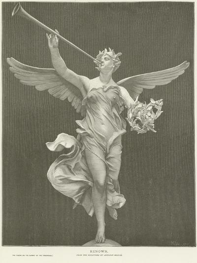 Allegory of Renown-Marius Jean Antonin Mercie-Giclee Print
