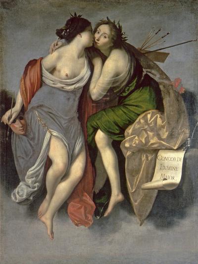 Allegory of the Arts-Francesco Furini-Giclee Print