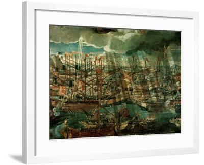Allegory of the Battle of Lepanto-Paolo Veronese-Framed Giclee Print