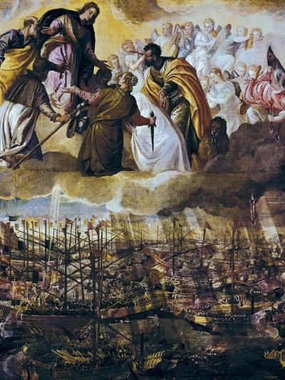 Allegory of the Battle of Lepanto-Paolo Veronese-Art Print