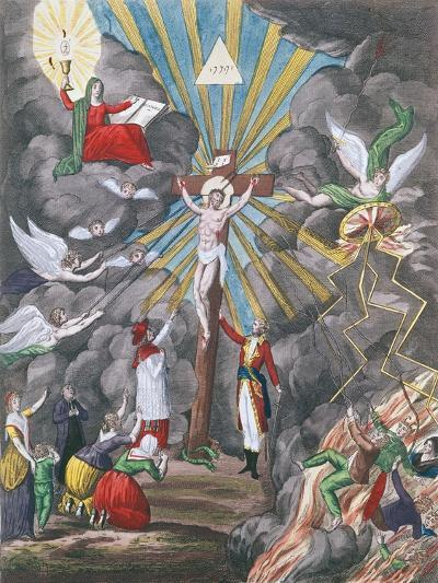 Allegory of the Re-Establishment of the Catholic Religion in France in 1802 under Napoleon Bonapart--Giclee Print