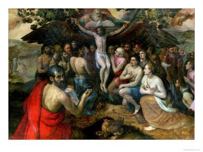 Allegory of the Trinity-Frans Floris-Giclee Print