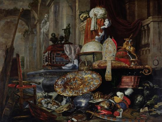 Allegory of the Vanities of the World, 1663-Pieter Or Peter Boel-Giclee Print