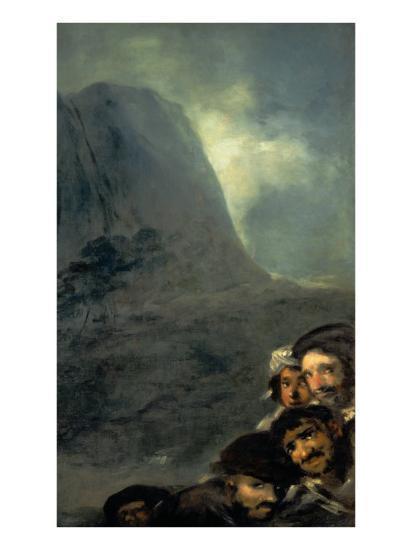 Allegory of Trade-Francisco de Goya-Giclee Print