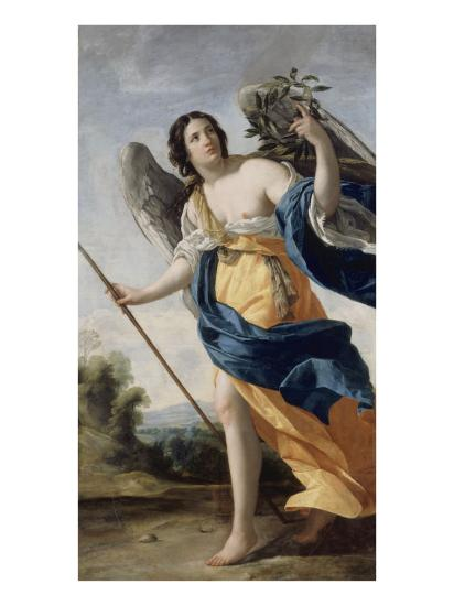 Allegory of Virtue Said before Allegory of Victory-Simon Vouet-Giclee Print
