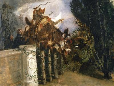 Allegory-Filippo Palizzi-Giclee Print