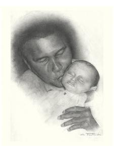 Mohammed Ali by Allen Friedlander