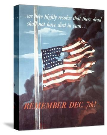 Remember Dec. 7th! 1942