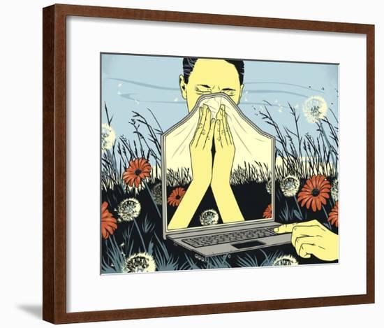 Allergies-Bill Butcher-Framed Giclee Print