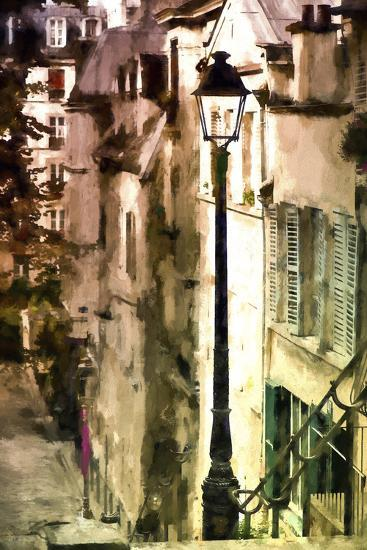 Alley in Montmartre-Philippe Hugonnard-Giclee Print