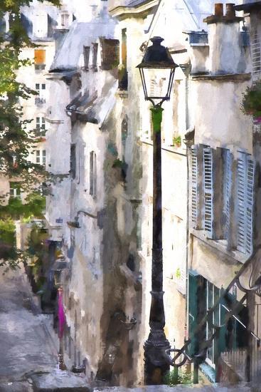 Alley in Paris-Philippe Hugonnard-Giclee Print
