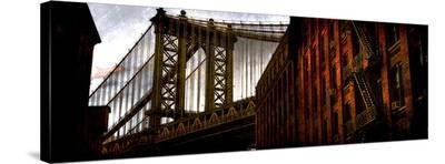 Alley to Manhattan-Dale MacMillan-Stretched Canvas Print