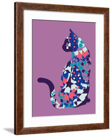 Alleycat--Framed Giclee Print