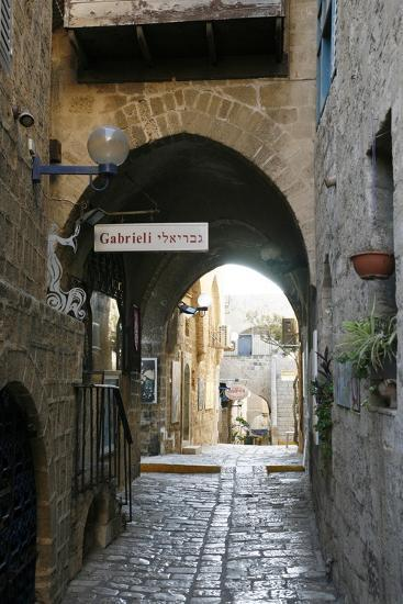 Alleys in the Old Jaffa, Tel Aviv, Israel, Middle East-Yadid Levy-Photographic Print