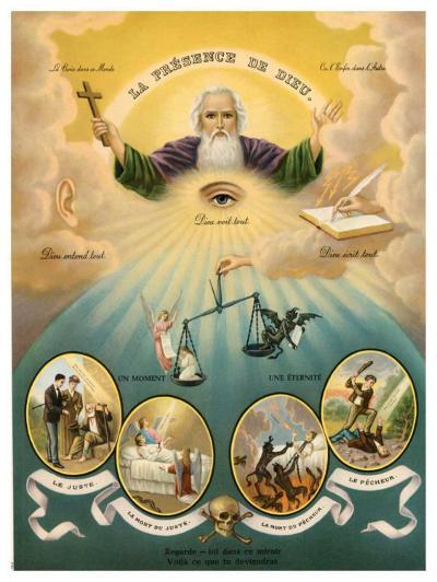 Allgegenwart Gottes--Art Print