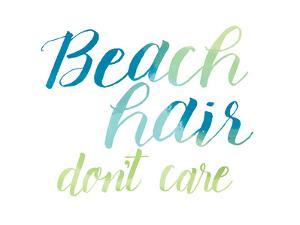 Beach Hair by Alli Rogosich