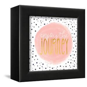 Enjoy the Journey - Blush Pink by Alli Rogosich