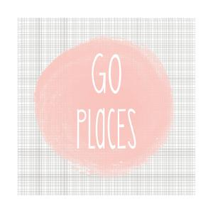 Go Places - Blush Pink by Alli Rogosich
