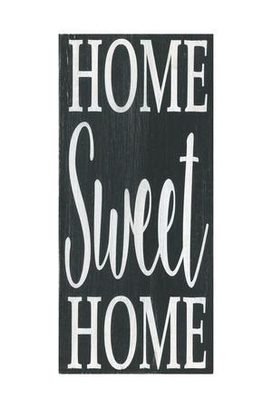 Home Sweet Home Black