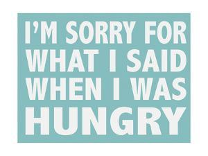 Hungry by Alli Rogosich