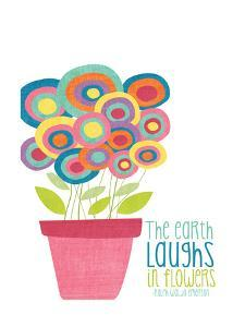 Laughs in Flowers by Alli Rogosich