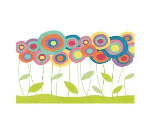 Lollipop Flower Field by Alli Rogosich