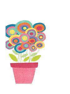 Lollipop Flower Pot by Alli Rogosich