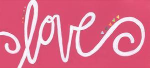 Love - Pink by Alli Rogosich