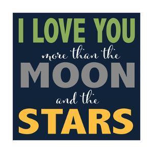 Moon and Stars Boys by Alli Rogosich