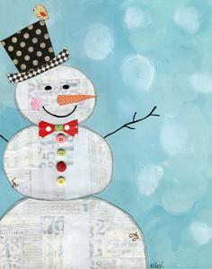 Snowman No Words by Alli Rogosich