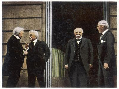 Allied Leaders at Paris--Photographic Print