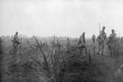 Allied Troops, 31 July 1917 at the Yser Canal, Belgium, 1926--Giclee Print