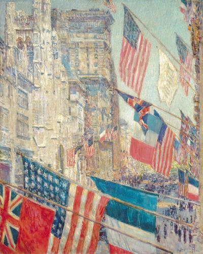 Allies Day, May 1917-Frederick Childe Hassam-Giclee Print