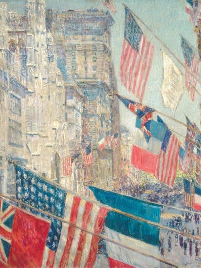 Allies Day, May 1917-Childe Hassam-Giclee Print