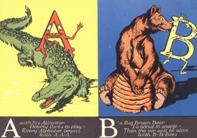 Alligator and Bear