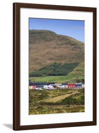 Allihies and Slieve Miskish Mountains in Cork, Ireland-Chris Hill-Framed Photographic Print