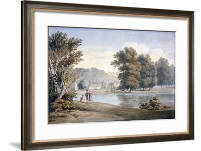 Allington Castle, Near Maidstone, Kent, 19th Century-James Duffield Harding-Framed Giclee Print