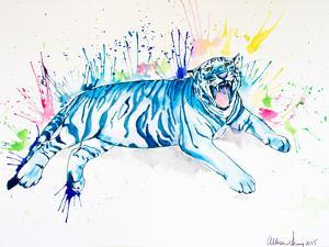 Blue Tiger by Allison Gray