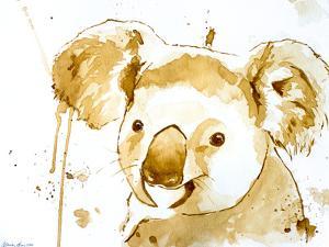 Coffee Koala Bear by Allison Gray