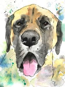 Droopy Mastiff by Allison Gray