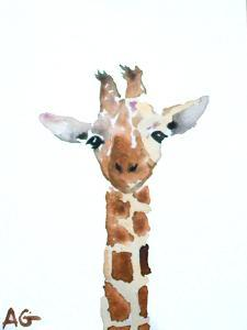 Giraffe by Allison Gray