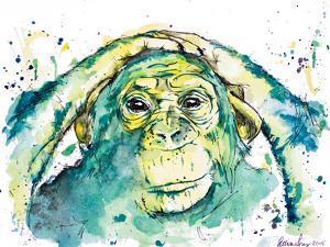 Green Chimp by Allison Gray