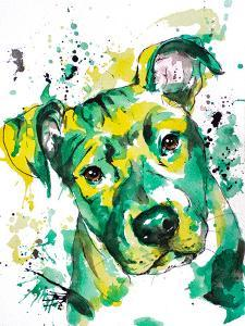Green Puppy by Allison Gray