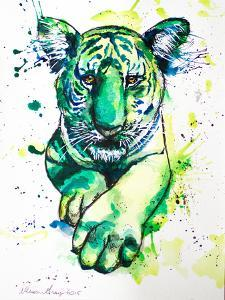 Green Tiger by Allison Gray