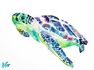 Sea Turtle by Allison Gray